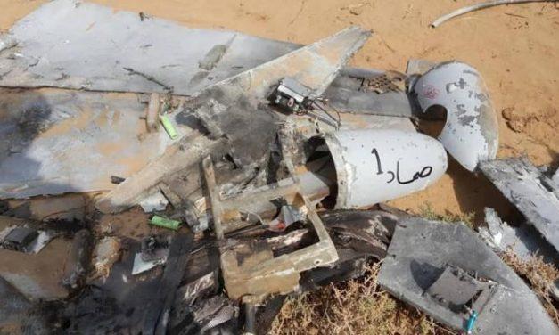 """قوات دعم الشرعية تسقط """"طائرة مسيّرة"""" جنوب السعودية"""