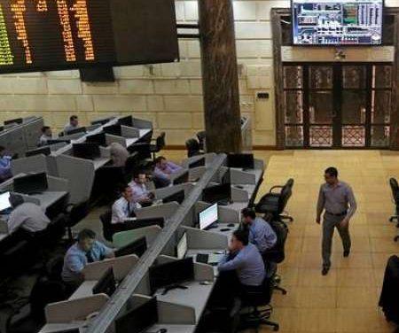 البورصة المصرية تتكبد خسائر بلغت 5.5 مليار جنية
