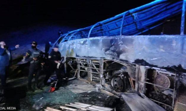 مصرع 18شخصا بحادث سير علي طريق أسيوط البحر الأحمر
