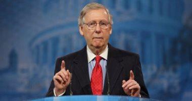 زعيم الأقلية فى الشيوخ الأمريكي: تركيزنا 100% على إيقاف إدارة بايدن